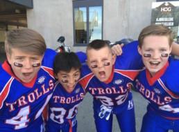 Innmelding Ungdomslagene: U13 på amerikansk aften